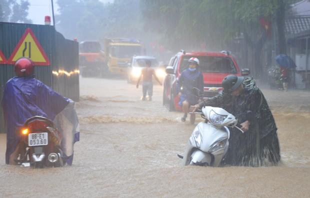 Lượng mưa dồn dập ở Hà Giang được nhận định là kỷ lục trong vòng 60 năm qua