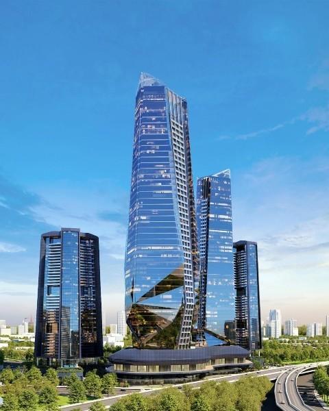 Tổ hợp tháp tài chính – khách sạn – trung tâm thương mại quốc tế Sunshine Empire
