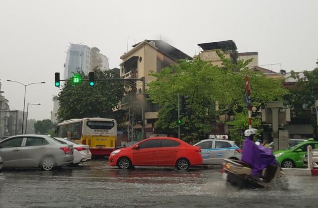 Khu vực Hà Nội có mưa giông những ngày cuối tháng 7