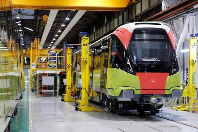 Đoàn tàu dự án đường sắt đô thị Nhổn- Ga Hà Nội dự kiến cuối năm nay sẽ về Việt Nam
