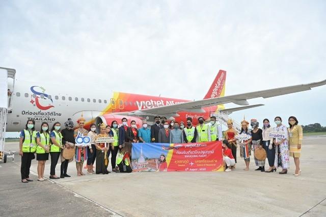 Vietjet vừa khai trương đường bay nội địa thứ 10 tại Thái Lan