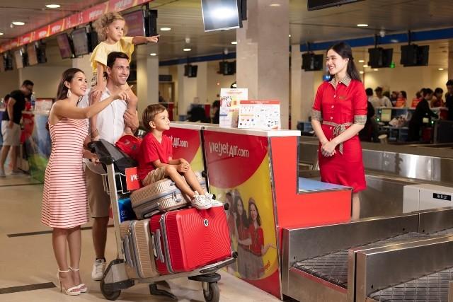 Vietjet tặng hành khách 15kg hành lý ký gửi cho khách bay từ 12/8 đến 24/10