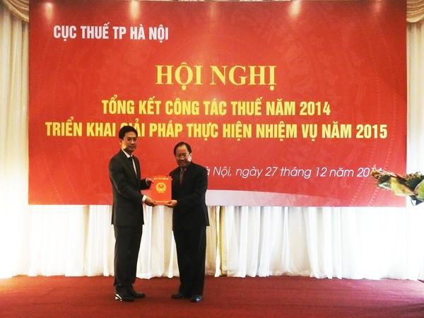 Ông Hà Minh Hải được bổ nhiệm làm Cục trưởng Cục Thuế TP Hà Nội ảnh 1