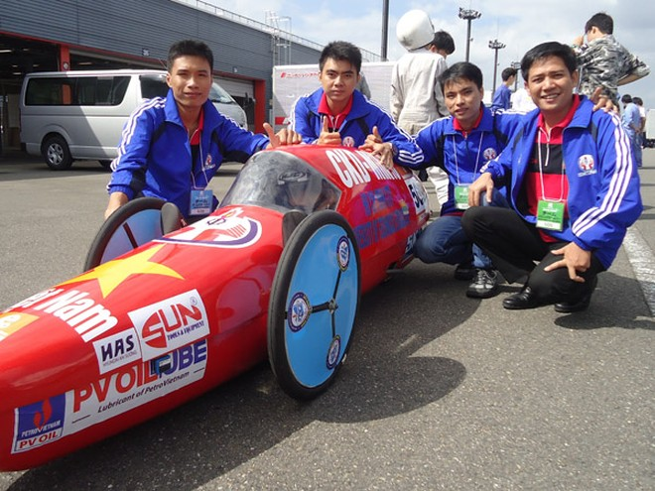 Việt Nam có 9 đội tham gia cuộc thi chế tạo xe tiết kiệm nhiên liệu ảnh 1
