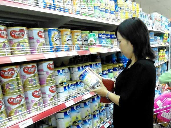 Loại chi phí quảng cáo: Đã có 50 sản phẩm sữa kê khai giảm giá ảnh 1