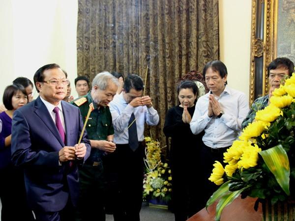 Bí thư Thành ủy Phạm Quang Nghị thăm một số gia đình, cá nhân tiêu biểu ảnh 3
