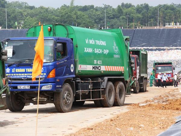 Khánh thành công trình xử lý rác thải công nghệ Nhật Bản tại thị xã Sơn Tây ảnh 2