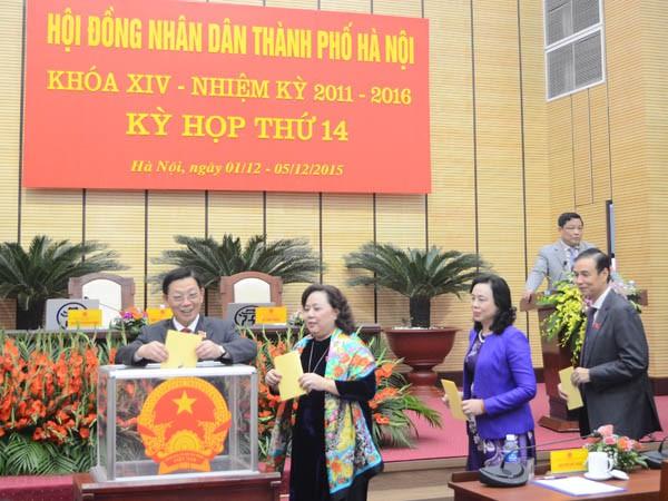 Ông Nguyễn Đức Chung được bầu làm Chủ tịch UBND TP Hà Nội ảnh 2