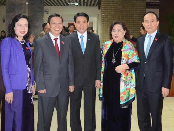 Ông Nguyễn Đức Chung được bầu làm Chủ tịch UBND TP Hà Nội ảnh 3