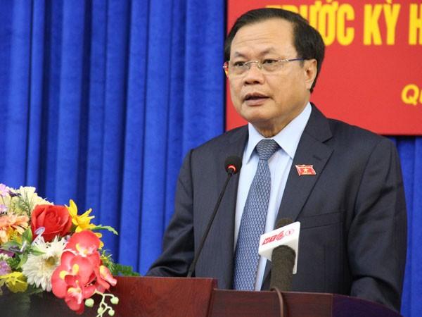 Đồng chí Phạm Quang Nghị- Trưởng đoàn đại biểu Quốc hội TP Hà Nội