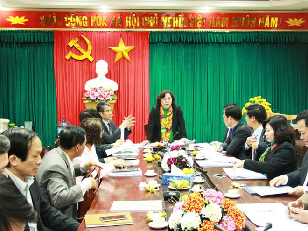 Phó Bí thư Thành ủy, Chủ tịch HĐND TP, Chủ tịch Ủy ban Bầu cử TP Hà Nội - Nguyễn Thị Bích Ngọc phát biểu kết luận