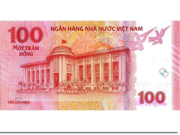 Phát hành tiền mệnh giá 100 đồng... làm lưu niệm ảnh 2