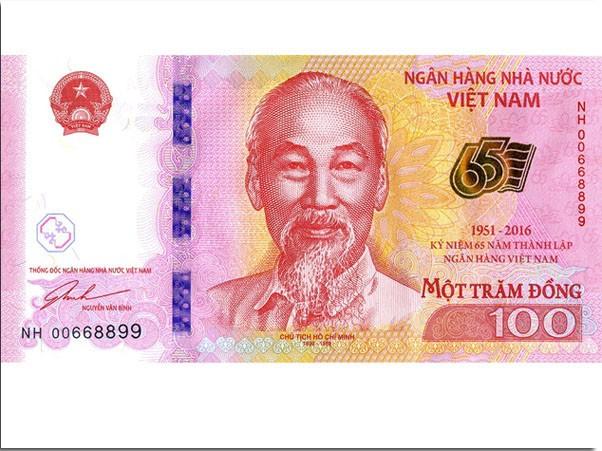Phát hành tiền mệnh giá 100 đồng... làm lưu niệm ảnh 1