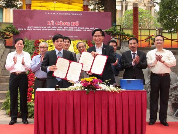 Công bố quy hoạch bảo tồn Hoàng thành Thăng Long ảnh 1