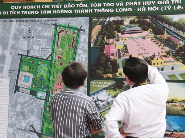 Công bố quy hoạch bảo tồn Hoàng thành Thăng Long ảnh 2