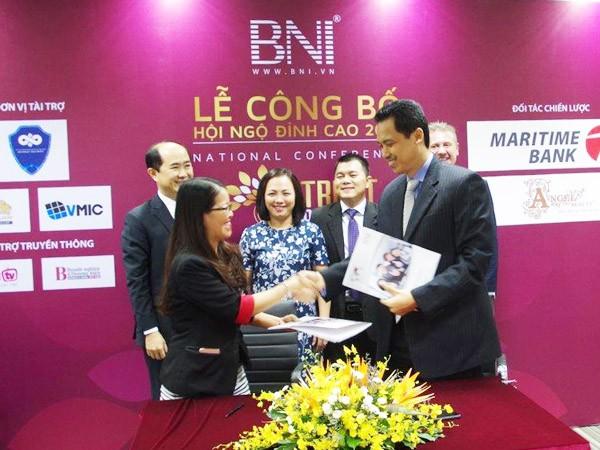Maritime Bank cung cấp giải pháp tài chính toàn diện cho BNI ảnh 1