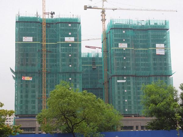Dự án chung cư số 177 Trung Kính của Công ty TNHH MTV Đầu tư Văn Phú - Trung Kính - một trong những dự án nằm trong danh sách thế chấp