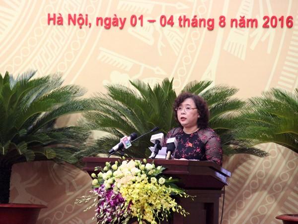 Khai mạc Kỳ họp thứ 2 HĐND Thành phố Hà Nội khóa XV ảnh 1