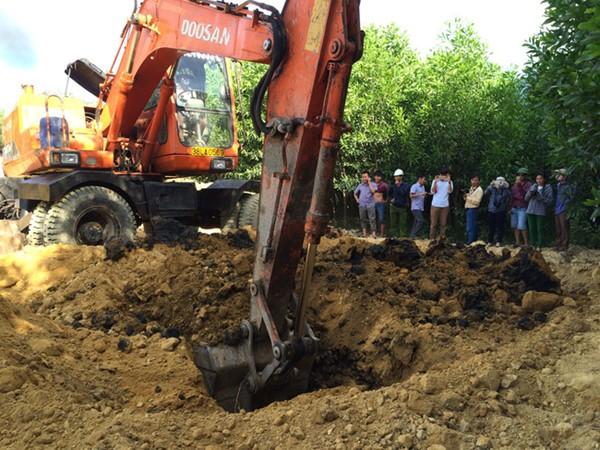Bùn thải chôn lấp trái phép của Formosa tại Hà Tĩnh có xyanua vượt ngưỡng ảnh 1