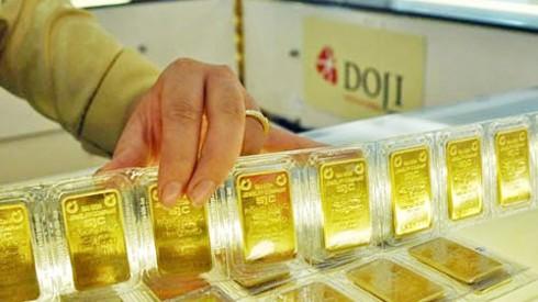 Giá vàng lao dốc mất hơn 600.000 đồng mỗi lượng ảnh 1