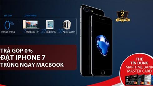 Có thể mua iPhone 7 trả góp lãi suất 0% trong 6 tháng ảnh 1