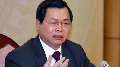 Bộ Công thương thông tin về việc ông Vũ Huy Hoàng xin cấp thẻ kiểm soát an ninh vào khu vực cách ly của sân bay Nội Bài