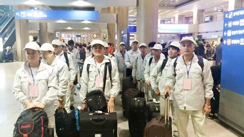 Cục Quản lý lao động ngoài nước cho biết, trong tháng 7 đã có hơn 11.500 lao động Việt Nam đi làm việc ở nước ngoài