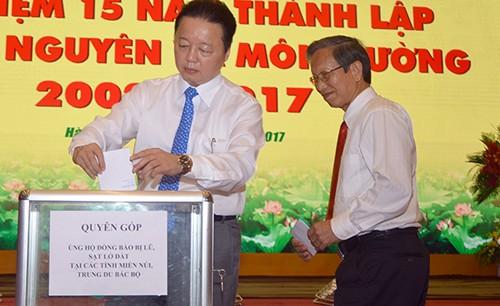 Bộ trưởng Trần Hồng Hà khẳng định không tham gia giải golf trong khi mưa lũ gây thiệt hại nặng ảnh 1