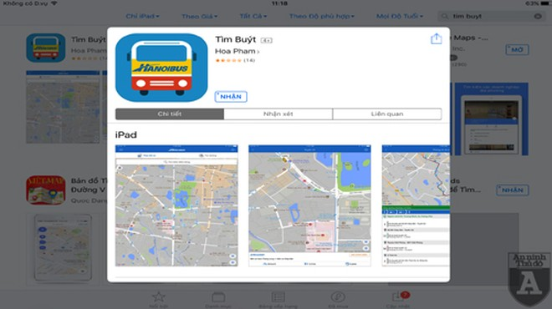 """Hà Nội: Dễ dàng tìm xe buýt với phần mềm """"Timbuyt.vn"""" ảnh 1"""