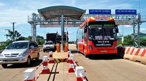 Đã có 38 trên tổng số 55 trạm thu phí BOT đã thực hiện giảm giá vé cho phương tiện