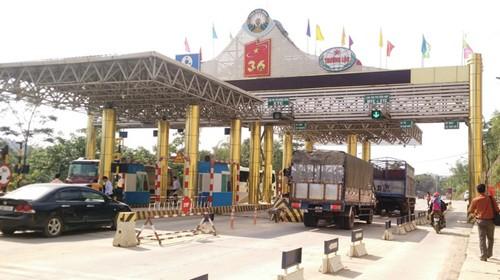Tổng cục Đường bộ Việt Nam quyết định giám sát doanh thu 10 ngày với 4 trạm thu giá BOT