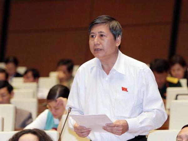 ĐB Trần Thanh Hải (TP. Hồ Chí Minh) phát biểu