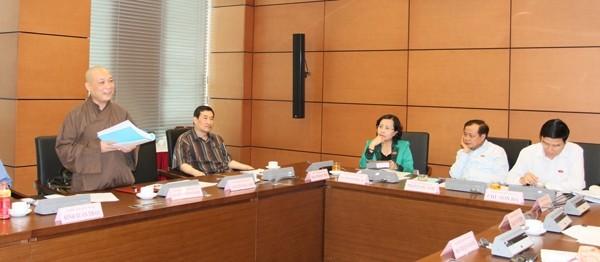 Buổi thảo luận ở tổ chiều 26-5 của Đoàn ĐBQH TP. Hà Nội
