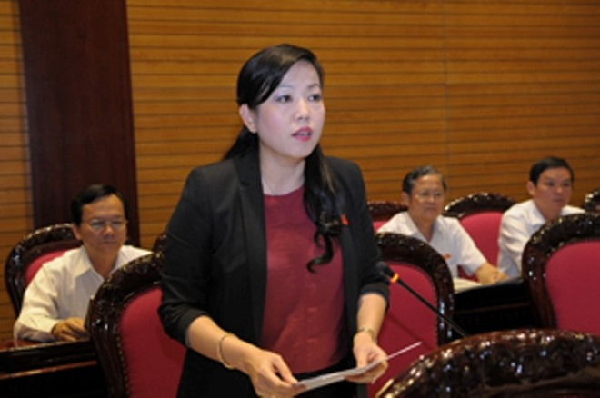 Đại biểu Nguyễn Thanh Hải phát biểu
