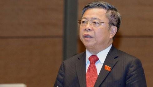Đại biểu Võ Kim Cự phát biểu thảo luận
