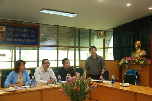 Ông Nguyễn Thanh Bình - Tổng Biên tập Báo ANTĐ cảm ơn ý kiến đóng góp
