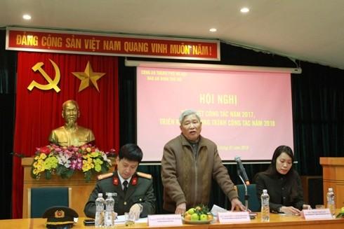 Ông Nguyễn Viêm Hoàng – Phó Chủ tịch Thường trực Hội Nhà báo TP Hà Nội phát biểu chỉ đạo
