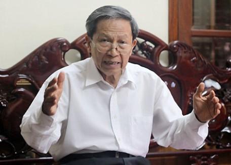 Thiếu tướng Lê Văn Cương, nguyên Viện trưởng Viện nghiên cứu Chiến lược, Bộ Công an