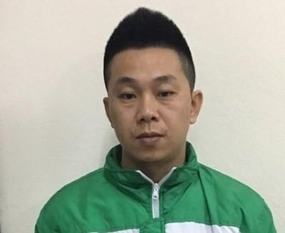 Đối tượng Phạm Huy Đoàn khi bị bắt