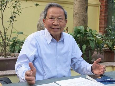 Thiếu tướng Lê Văn Cương - nguyên Viện trưởng Viện nghiên cứu Chiến lược (Bộ Công an)
