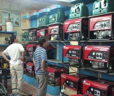 Người dân cần thận trọng khi mua và sử dụng máy phát điện (ảnh minh họa)