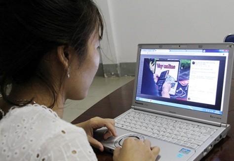Người dân cần thận trọng khi vay tiền online (ảnh minh họa)