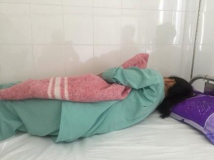 Nạn nhân bị hành hung đang điều trị tại bệnh viện