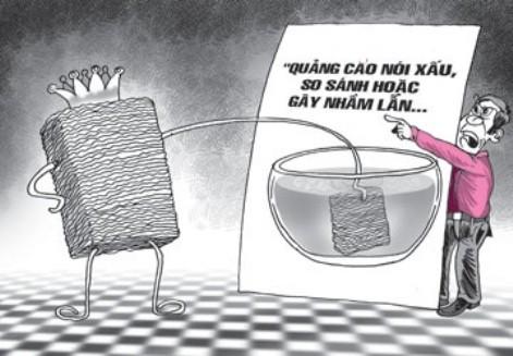 Hành vi cạnh tranh không lành mạnh sẽ bị phạt tiền tới 2 tỷ đồng (ảnh minh họa)