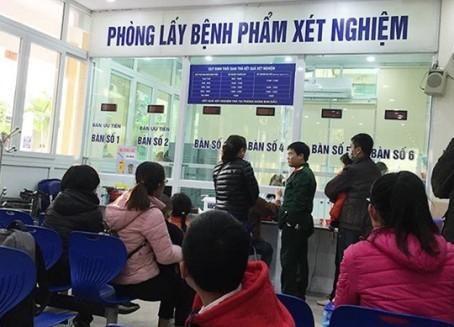 Nơi lấy bệnh phẩm xét nghiệm tại BV Xanh Pôn