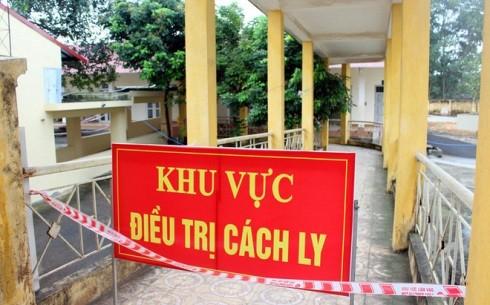 Khu vực cách ly tại Bệnh viện Lao và bệnh phổi Thái Nguyên