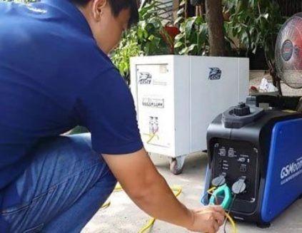 Người dân cần đọc kỹ hướng dẫn sử dụng trước khi dùng máy phát điện tại nhà (ảnh minh họa)