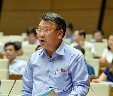 Đại biểu Nguyễn Tạo (đoàn Lâm Đồng) phát biểu