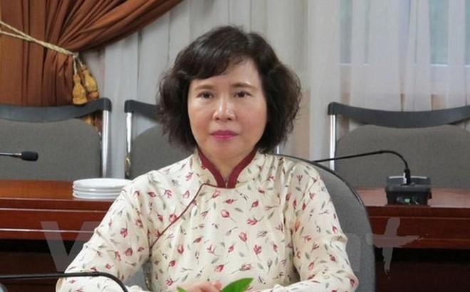 Bà Hồ Thị Kim Thoa, cựu Bộ trưởng Bộ Công thương đang bị truy nã
