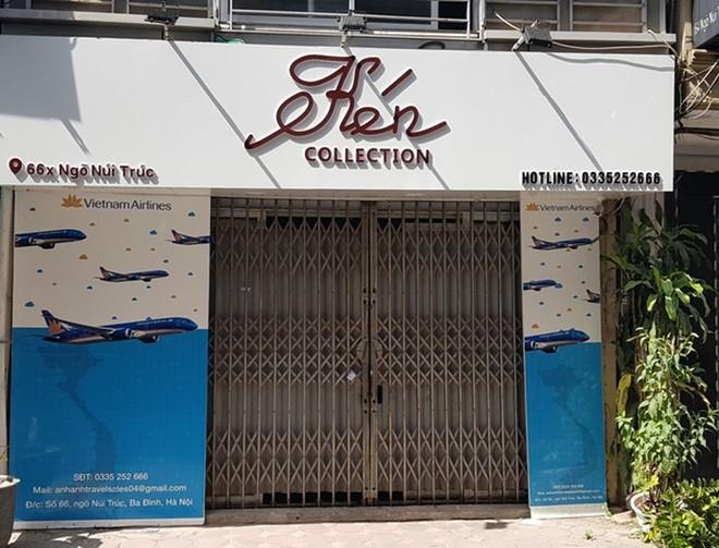 Một điểm bán combo du lịch giá rẻ tại Hà Nội đã đột ngột đóng cửa